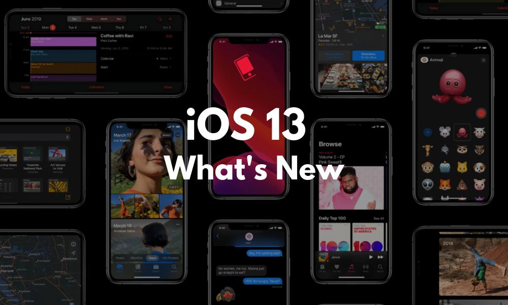 همه چیز در ارتباط با iOS 13 و تغییرات آن