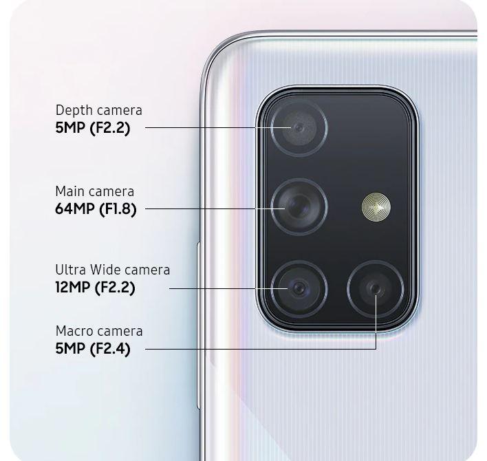 گوشی موبایل سامسونگ Samsung Galaxy A71
